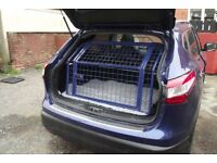 Nissan Qashqai 2014 on tailgate dog guard
