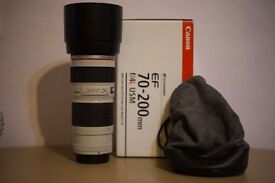 Canon 70-200 F4 USM Lens