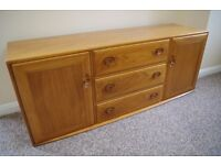 For sale Ercol Windsor Sideboard Model 455 in Ercol Light finish