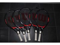 Wilson 23' Roger Federer Junior Racquet, Includes Headcover for Protection, Great for Beginners