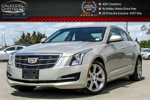 2015 Cadillac ATS Standard AWD|Sunroof|Backup Cam|Bluetooth|Leat