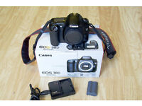 Canon's EOS 30D (Body only).