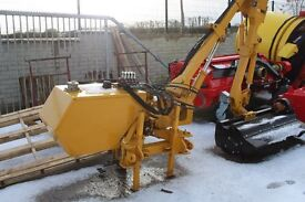 USED BOMFORD 4M REACH HEDGECUTTER