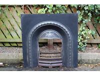 "Cast Iron Fireplace Insert - 16"" Grate"