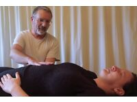Craniosacral: pain, posture, spine, head, headaches, neuralgia, stress, trauma, wellbeing, change.