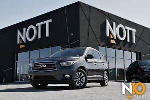 2014 Infiniti QX60 AWD, 7-Pass, Backup Cam, Moonroof!