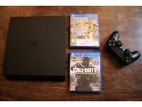 Latest PS4 Slim 500GB with FIFA and Call Of Duty