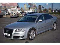 2008 Audi A8 3.0 TDI Quattro Sport Finance Available Bangor