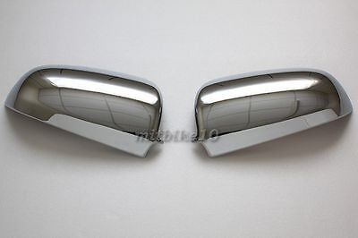 AUDI A4 B6 B7 A6 S6 C6 A3 8P S4 quattro Door Chrome Mirror Covers