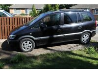 VAUXHALL ZAFIRA LPG For Sale as Spares or Repairs