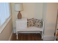 Shabby Chic Vintage Telephone Table