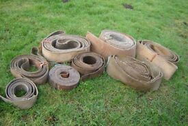 Flat Drive Belts, Suits Tractor or Stationary Engine