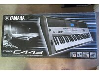 Yamaha PSR-E443 Electric Piano Keyboard with Stand and Seat