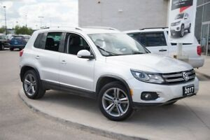 2017 Volkswagen Tiguan Highline | 4MOTION