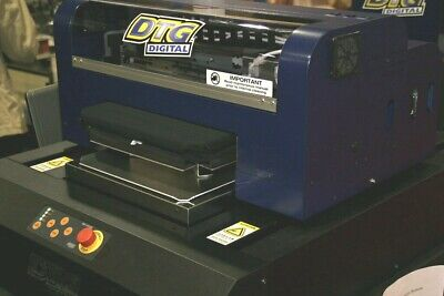 Dtg Hm1 Direct To Garment Printer With Warranty.