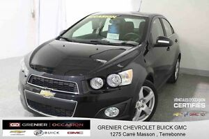 2016 Chevrolet SONIC LT TURBO *TOIT OUVRANT + SIÈGES CHAUFFANTS*