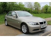 2007 BMW 3 Series 2.0 318i SE AUTOMATIC BEIGE LEATHER BRONZE LOW MILES CLEAN