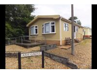 Bungalow Park Home On Quiet Private Semi Retired Park for Over 55's near Swansea.