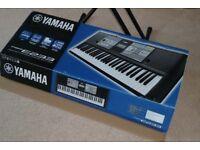 Yamaha PSR-E233 61-Key Premium Portable Keyboard, Stand and Power Supply