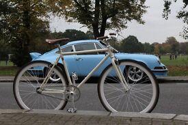 Christmas sale!!! Steel Frame Single speed road bike track bike fixed gear racing fixie bicycle 3w