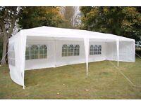 FoxHunter Outdoor Garden PE Gazebo Marquee Canopy Awning Wedding Tent Waterproof