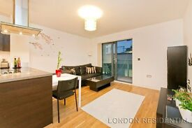 Large contemporary one double bedroom apartment located in the canal side development The Lock House