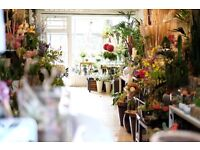 Experienced Florist AND Junior Florist Required for Full Time Position