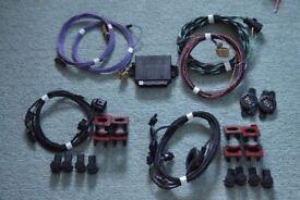 OEM RCD510 310 RNS510 315 8K OPS Parking Sensor System Kit for VW
