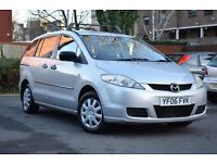 2006 MAZDA 5 TS 1.8 PETROL 7 SEATER*3 MONTHS FREE WARRANTY*BREAKDOWN COVER*ROOF BARS*NEW MOT*