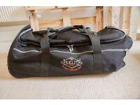 Paklite Tramps Convertible Trolley Duffle Bag - Lightweight, 2 Wheels