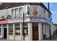 Restaurant business for sale - Prime location in Bristol,