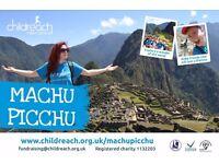 Trek Machu Picchu: join Childreach International in raising money and trekking through the Andes