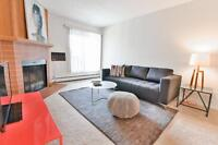 TOP FLOOR 1 bed apartment! OVERLOOKS GREEN SPACE! Available imme