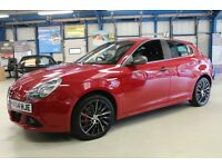 Alfa Romeo Giulietta JTDM-2 QV LINE TCT [SAT NAV / LEATHER / 18'' ALLOYS] (alfa red) 2014