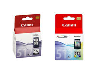 New Canon 512 and Canon 513 Ink Cartridges