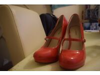 Coral Heels - Size 6