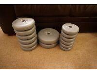 14 x York vinyl weights 32.5kg