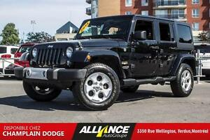 2014 Jeep WRANGLER UNLIMITED SAHARA Sahara