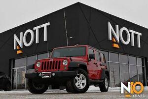 2014 Jeep Wrangler Sport, 4X4, ACCIDENT FREE, 2 Tops!