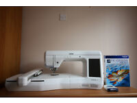 Brother Innov-is V3 Embroidery Machine & PE DESIGN NEXT