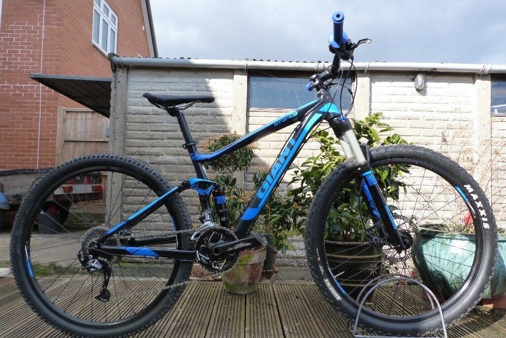 2015 Giant Stance 2 Mountain XC Bike 27.5 Wheel - 16\