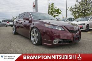 2009 Acura TL Base w/Tech Pkg|LEATHER|SUNROOF|NAVI|HTD SEATS|CAM