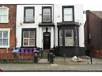 38 Balmoral Rd (3) Fairfield. 1 bed flat with DG in residential area off Prescot Road. LHA welcome