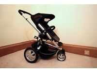 Quinny Buzz Xtra buggy/pushchair/pram and carrycot with extras