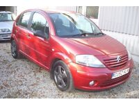 Citroen C3 2002-52-plate, 1360cc petrol, only 79,000 miles, new mot upon purchase,