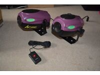 Pair of ACME SyncroLaser LIGHTS