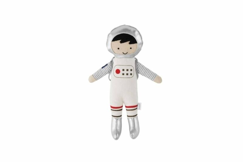 Mud Pie E1 The Kids Shoppe Baby Boy 8in H Astronaut Tooth Fairy Toy 12110220