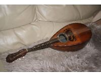 Old Italian mandolin