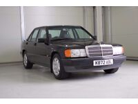 1993 Mercedes-Benz 190 1.8 Auto E, A Beautiful Classic With Mercedes Service History