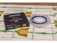 Hoya HD Protector 67mm lens filter As new condition